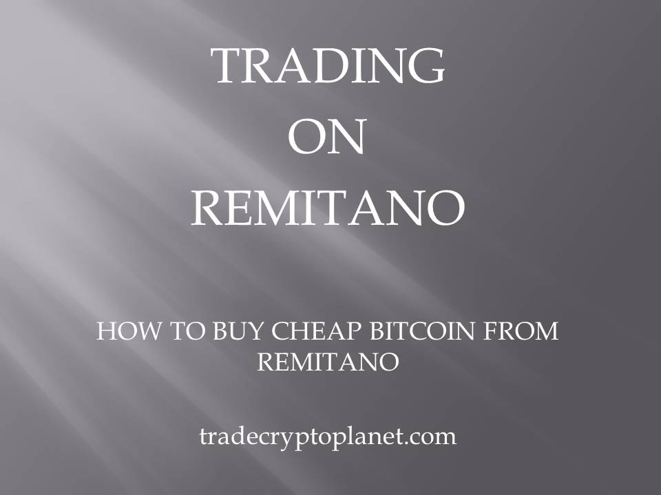 cheap bitcoin on remitano