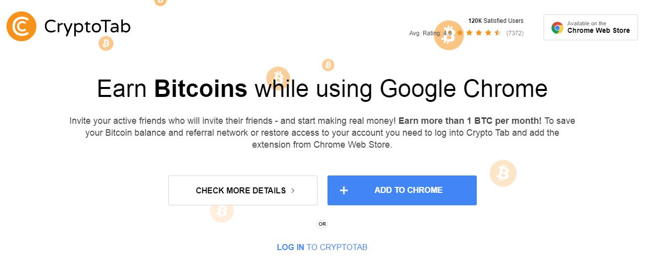 crypto tab